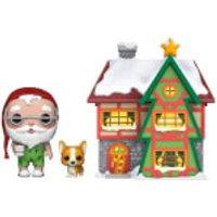 Pop! Holiday Santa's House Santa & Nutmeg Pop! Town - Holiday Gifts