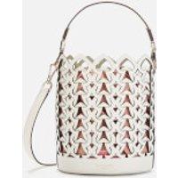 Kate Spade New York Women's Dorie Small Bucket - Optic White