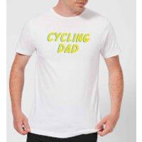 Cycling Dad Men's T-Shirt - White - XXL - White - Cycling Gifts
