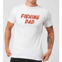 Fishing Dad Men's T-Shirt - White - S - White - Fishing Gifts