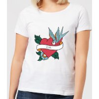 Da Heart Women's T-Shirt - White - L - White