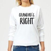 Grandad's Right Women's Sweatshirt - White - 5XL - White