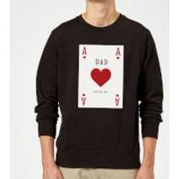 Image of Dad You're Ace Sweatshirt - Black - XXL - Black