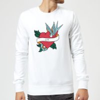 Da Heart Sweatshirt - White - XXL - White