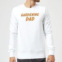 Gardening Dad Sweatshirt - White - XXL - White - Gardening Gifts