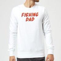 Fishing Dad Sweatshirt - White - XXL - White