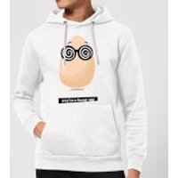 You're A Funny Egg Hoodie - White - L - White