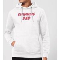 Swimming Dad Hoodie - White - XXL - White