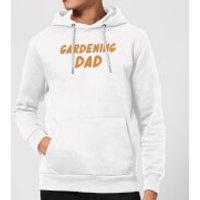 Gardening Dad Hoodie - White - M - White - Gardening Gifts