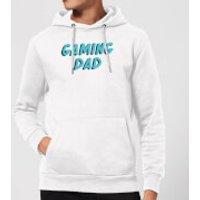 Gaming Dad Hoodie - White - M - White - Gaming Gifts