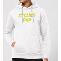 Cycling Dad Hoodie - White - XXL - White - Cycling Gifts
