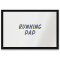 Running Dad Entrance Mat - Running Gifts