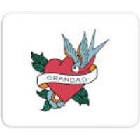 Grandad Heart Mouse Mat - Grandad Gifts