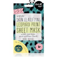 Oh K! SOS Printed Leopard Clarifying Print Sheet Mask 23ml