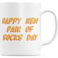 Happy New Pair Of Socks Day Mug - Socks Gifts
