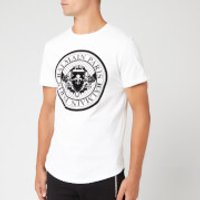 Balmain Men's Coin T-Shirt - Blanc/Noir - L - White
