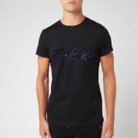 Balmain Men's Signature T-Shirt - Noir - S - Black