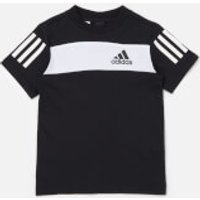 adidas Boys Young Boys Sid T-Shirt - Black - 9-10 Years