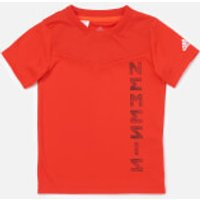 adidas Boys' Young Boys Nemis Jersey - Red - 7-8 Years