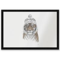 Winter Tiger Entrance Mat - Tiger Gifts
