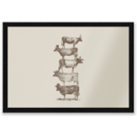 Cow Cow Nuts Entrance Mat - Cow Gifts