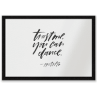 Trust Me, You Can Dance Entrance Mat - Dance Gifts