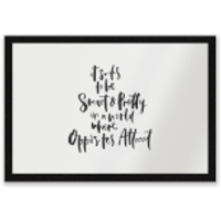 It Sucks To Be Smart And Pretty In A World Where Opposites Attract Entrance Mat - Pretty Gifts