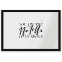 You Are The Nutella To My Spoon Entrance Mat - Nutella Gifts