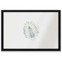 Geometry And Nature Entrance Mat - Nature Gifts