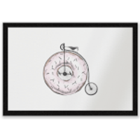 Donut Ride My Bicycle Entrance Mat - Bicycle Gifts