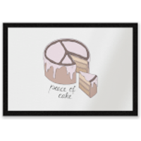 Peace Of Cake Entrance Mat - Cake Gifts