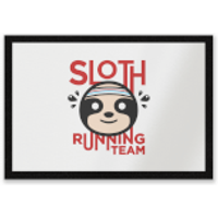Sloth Running Team Entrance Mat - Running Gifts