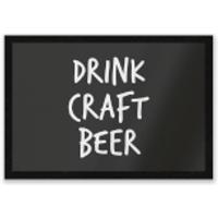 Drink Craft Beer Entrance Mat - Drink Gifts