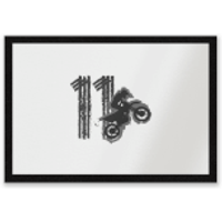 11 Motocross Entrance Mat - Motocross Gifts