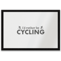 I'd Rather Be Cycling Entrance Mat - Cycling Gifts