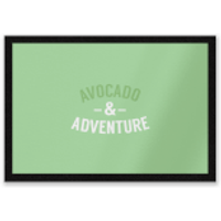 Avocado And Adventure Entrance Mat - Adventure Gifts