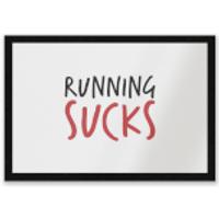 Running Sucks Entrance Mat - Running Gifts