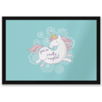 You Are Pretty Magical Unicorn Entrance Mat - Pretty Gifts