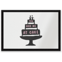 You Had Me At Cake Entrance Mat - Cake Gifts