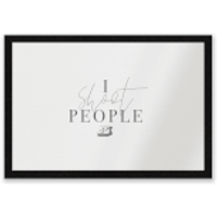 I Shoot People Entrance Mat - People Gifts
