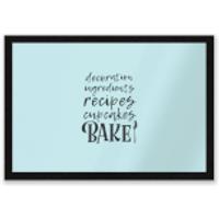 Baking Words Entrance Mat - Baking Gifts