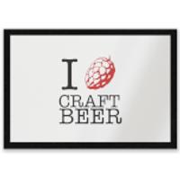 I Hop Craft Beer Entrance Mat - Craft Gifts