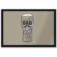 Awesome Dad Beer Glass Entrance Mat - Beer Glass Gifts