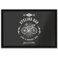 Cycling Dad Entrance Mat - Cycling Gifts