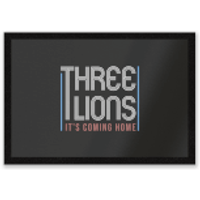 Three Lions It's Coming Home Entrance Mat - Home Gifts