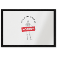 Hello, My Name Is Nobody Entrance Mat