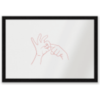 Sexy Hand Gesture Entrance Mat - Sexy Gifts