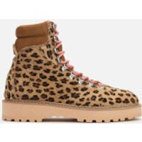 Diemme Women's Monfumo Pony Hiking Style Boots - Leopard - UK 5/EU 38 - Tan