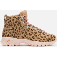 Diemme Women's Maser Pony Hiking Style Ankle Boots - Leopard - UK 6/EU 39 - Tan