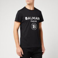 Balmain Men's Metallic T-Shirt - Noir/Oro - S